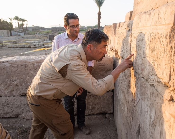 China Sent Archaeologists to Excavate in Egypt