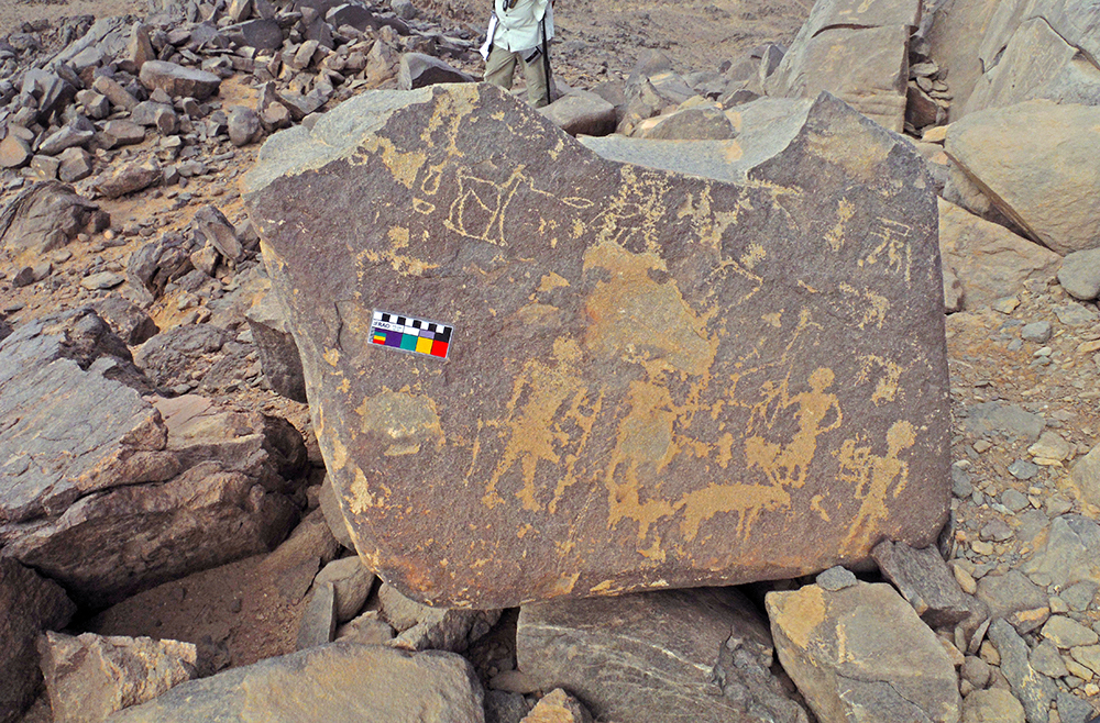 Ancient Egypt: Medu Neter Inscriptions Found at a Mining Site