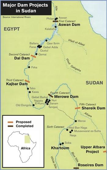 major dam projects sudan