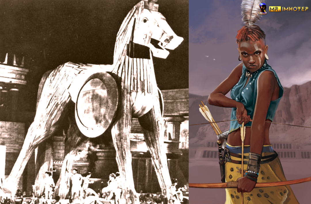Is The Trojan Horse Myth a Copy of an Ancient African Event?