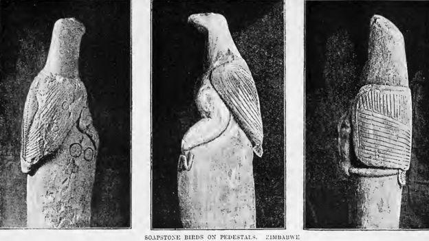 Zimbabwe bird - soapstone_birds_on_pedestals