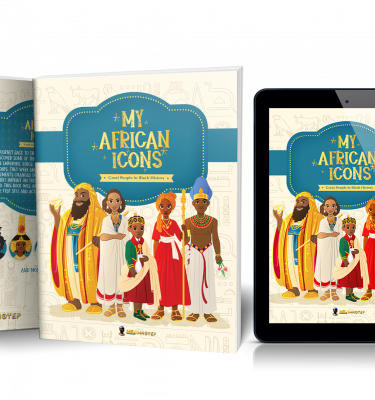 My African Icons paperback mockup