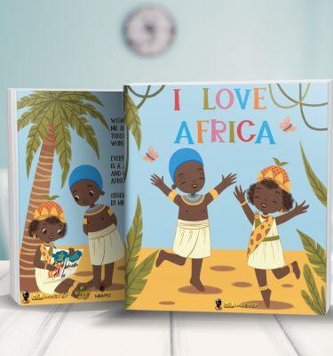 I Love Africa Children's Book