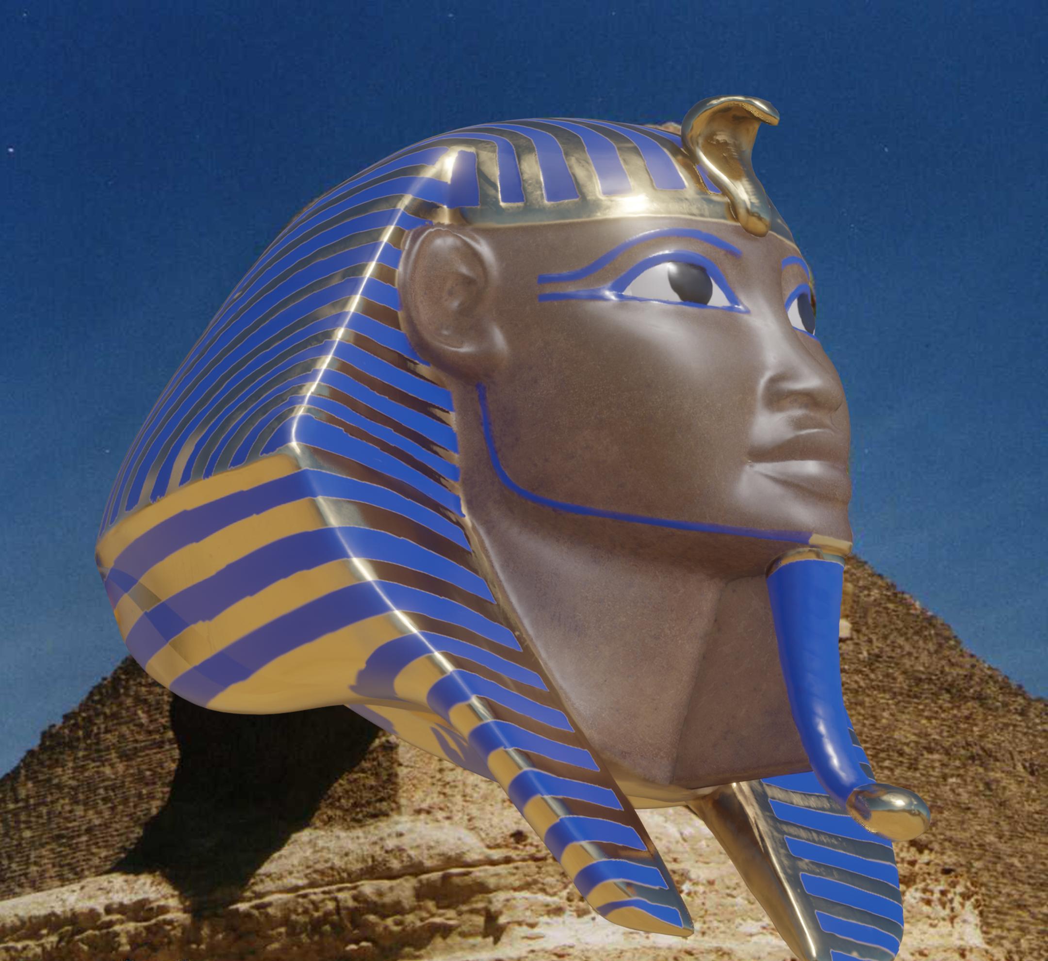Great Sphinx 3D